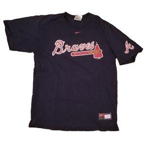 Vintage Nike Atlanta Braves MLB T Shirt